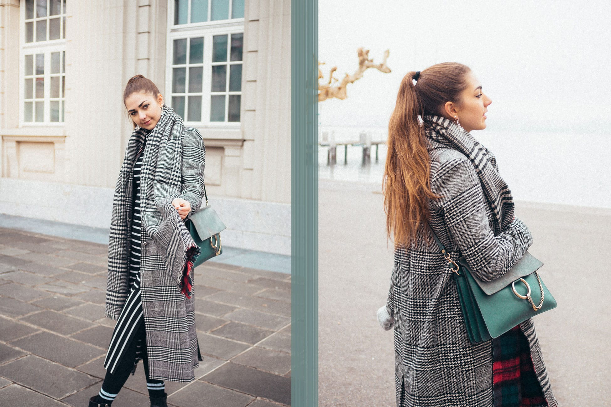 Checked-Coat/Chloé-Bag/Oversized-Coat/Outfit/Fashion/Outfitpost/Outfit-Photo/Ankle-Boots/Details