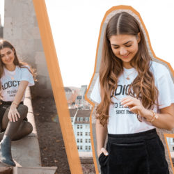 Jewelry, Details, Sunset, Golden Hour, Casual Look, Statement T-Shirt, Parosh, Corduroy, Ankle Boots, Necklace, Bracelet, Earrings, Essentials, Conscious, Sustainable, Conscious Fashion, Fashion Blogger, Fashion Blog, Fashion Magazine, Editorial, Canon Camera, Zurich