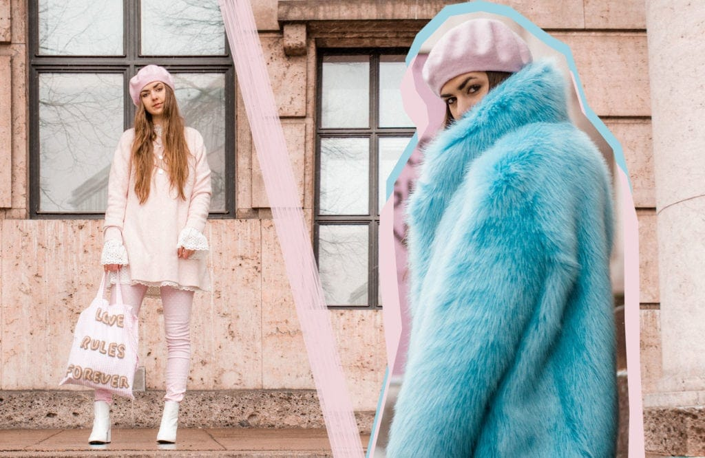 Fake Fur, Faux Fur, Fashion Editorial, Editorial, Beret, Fake Fur Coat, White Boots, SS18, Paris, Parisian
