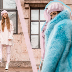 Fake Fur, Faux Fur, Fashion Editorial, Editorial, Beret, Fake Fur Coat, White Boots, SS18, Paris, Parisian