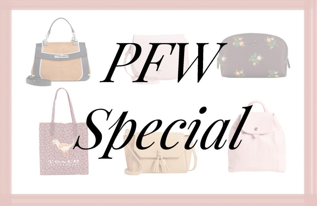PFW, Fashion Show, Highlights, Runway, Paris, Paris Fashion Week, Fashion Week, Details, Collage, Bags, Coach, Longchamp