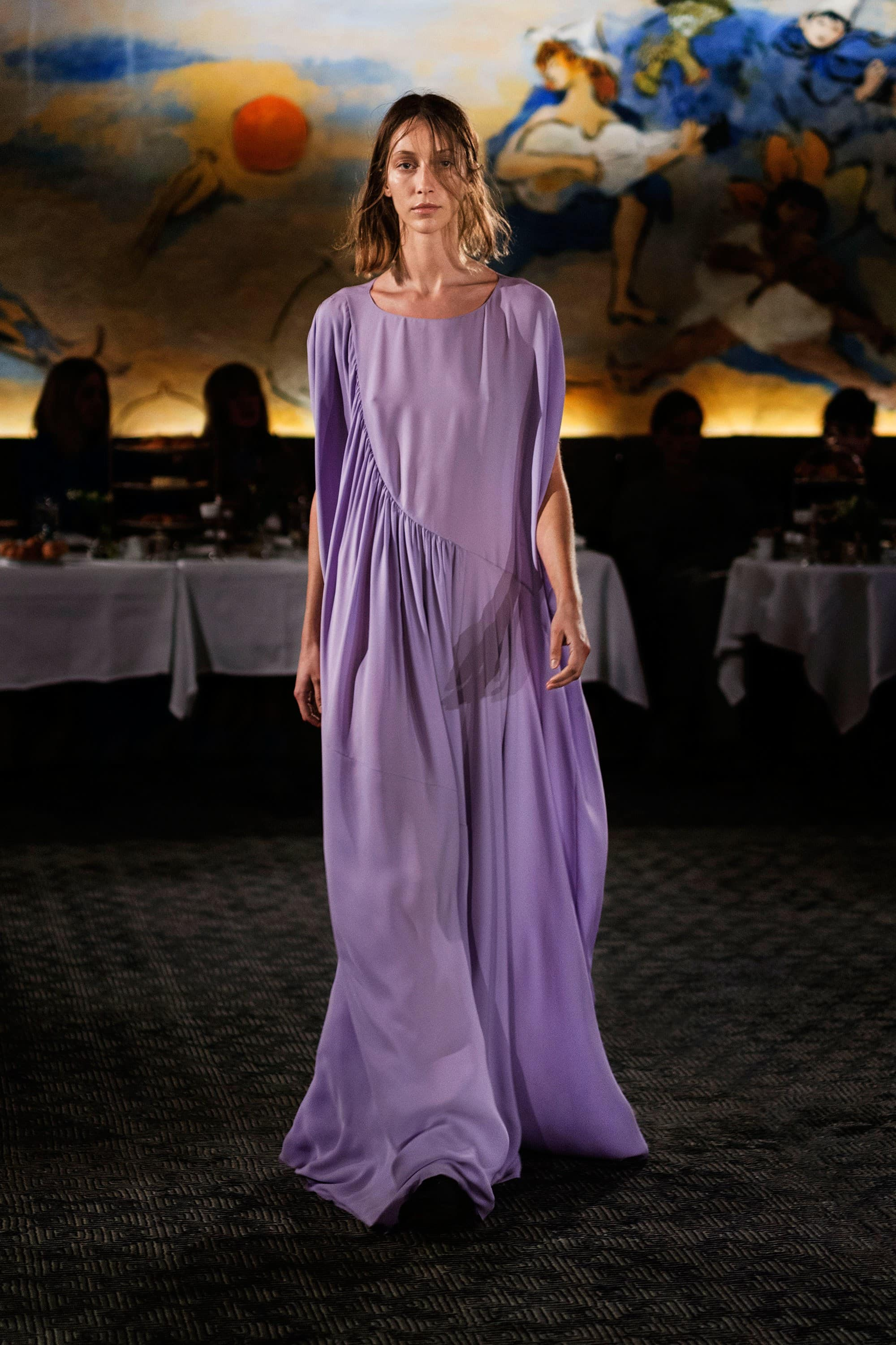 Purple, Lilac, Lavender, Outfit, Fashion, Fashion Show, Catwalk, Model, Model Life, Runway, Dress, Look, OOTD, Fashion Week, Trend Report, Trends, Trendy, SS18, Spring Summer 2018, NYFW, New York, New York Fashion Week, The Row