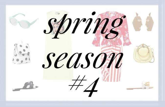 Trendy Tuesday, Moodboard, Style, Fashion, Fashion Inspiration, Spring Fashion, SS18, Spring Summer 201, Look, Essentials, Fashion, Fashion Basics, Shop the Look, Flowers, Floral, Flower Print, Edited, Prada